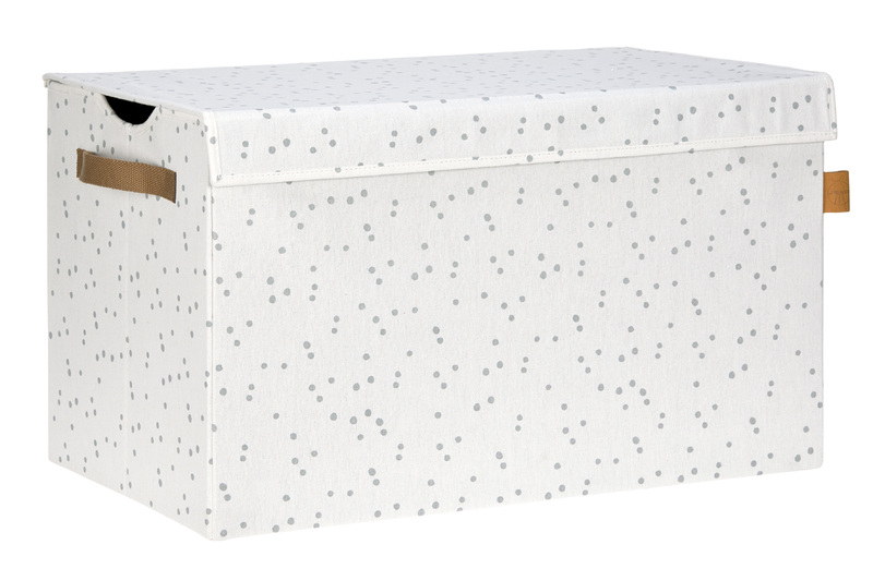 LÄSSIG - box na hračky, Toy Trunk Allover Speckles