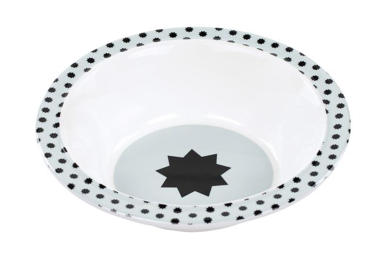 LÄSSIG - Detská mištička Bowl with Silicone Little Chums dog