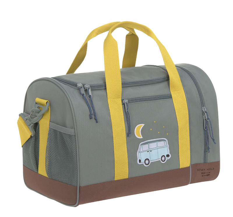 LÄSSIG - detská športová taška Mini Sportsbag Adventure bus