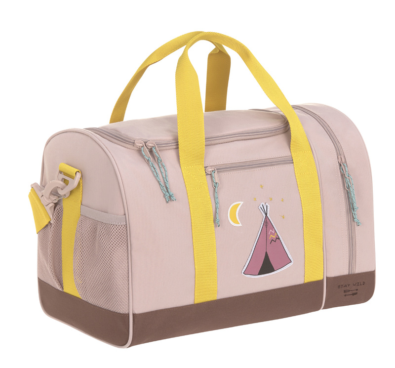 LÄSSIG - detská športová taška Mini Sportsbag Adventure tipi