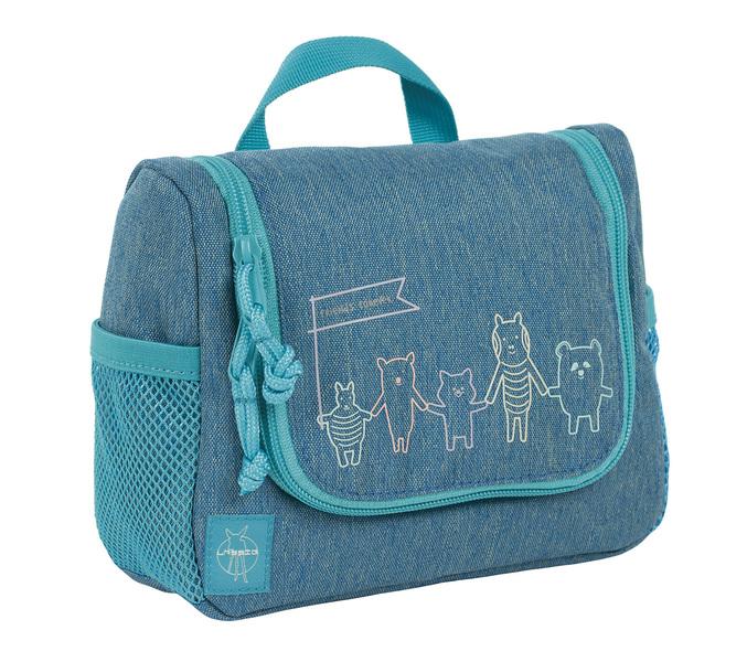 LÄSSIG - Detská taštička na hygienu Mini Washbag About Friends mélange blue