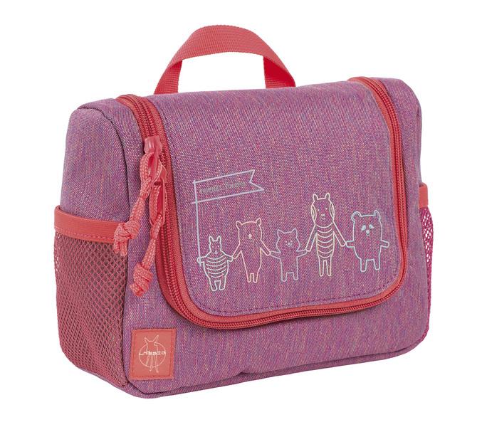 LÄSSIG - Detská taštička na hygienu Mini Washbag About Friends mélange pink