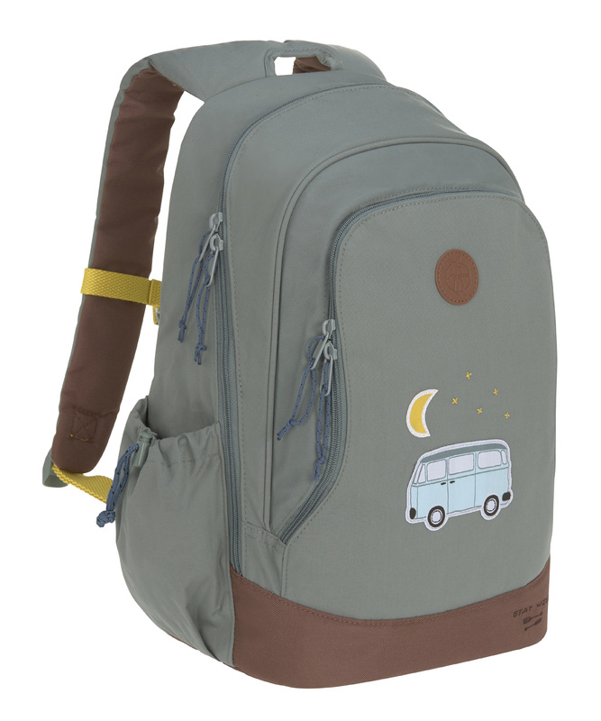 LÄSSIG - detský batoh Big Backpack Adventure bus