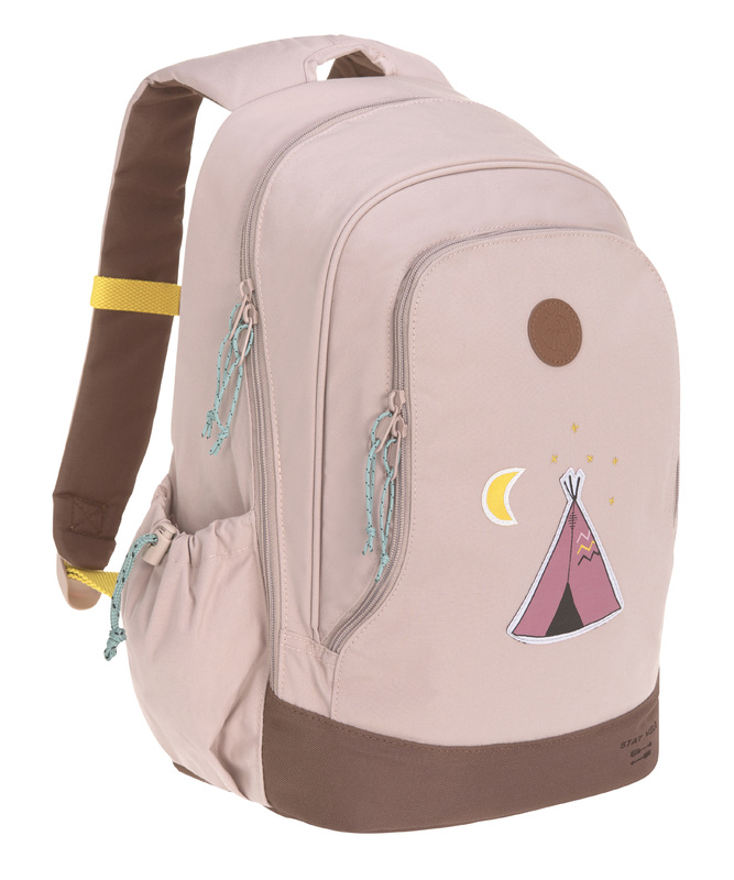 LÄSSIG - detský batoh Big Backpack Adventure tipi