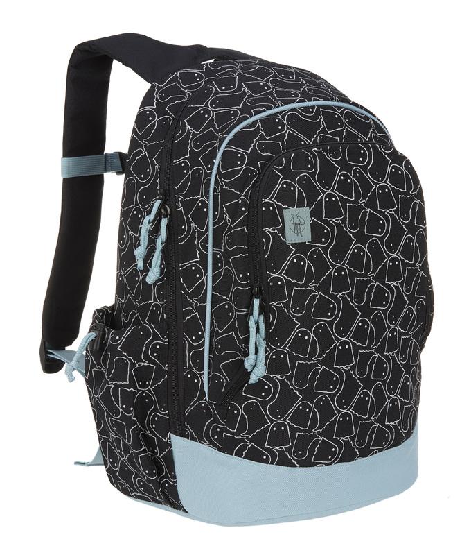 LÄSSIG - detský batoh, Big Backpack Spooky black
