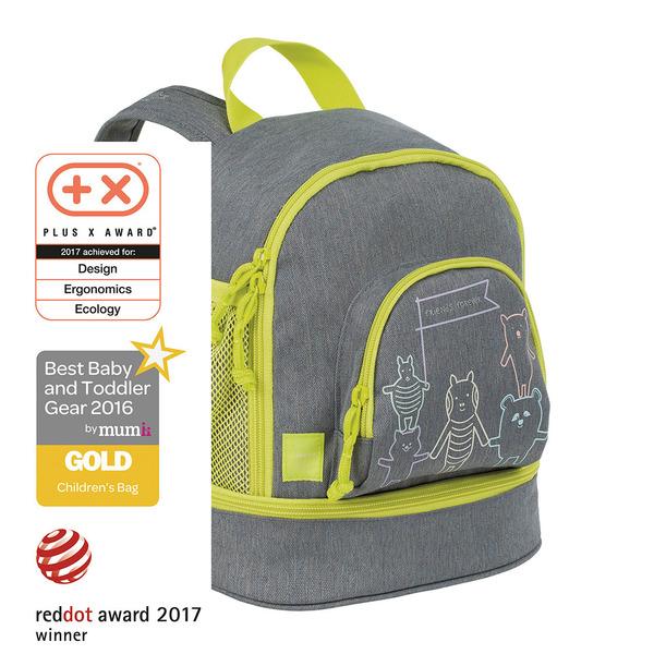 LÄSSIG - Detský batoh Mini Backpack About Friends mélange grey