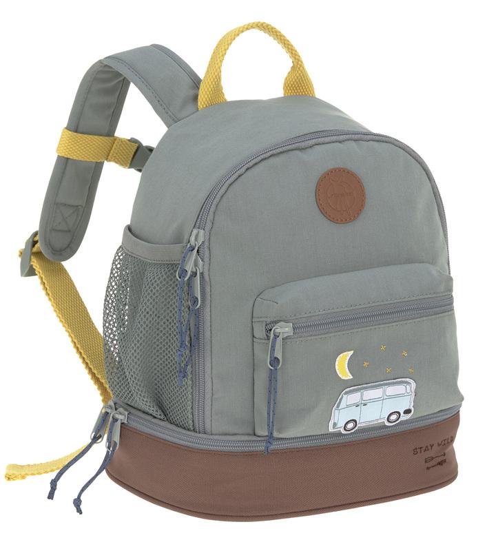 LÄSSIG - detský batoh Mini Backpack Adventure Bus