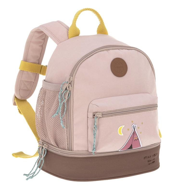 LÄSSIG - detský batoh Mini Backpack Adventure Tipi