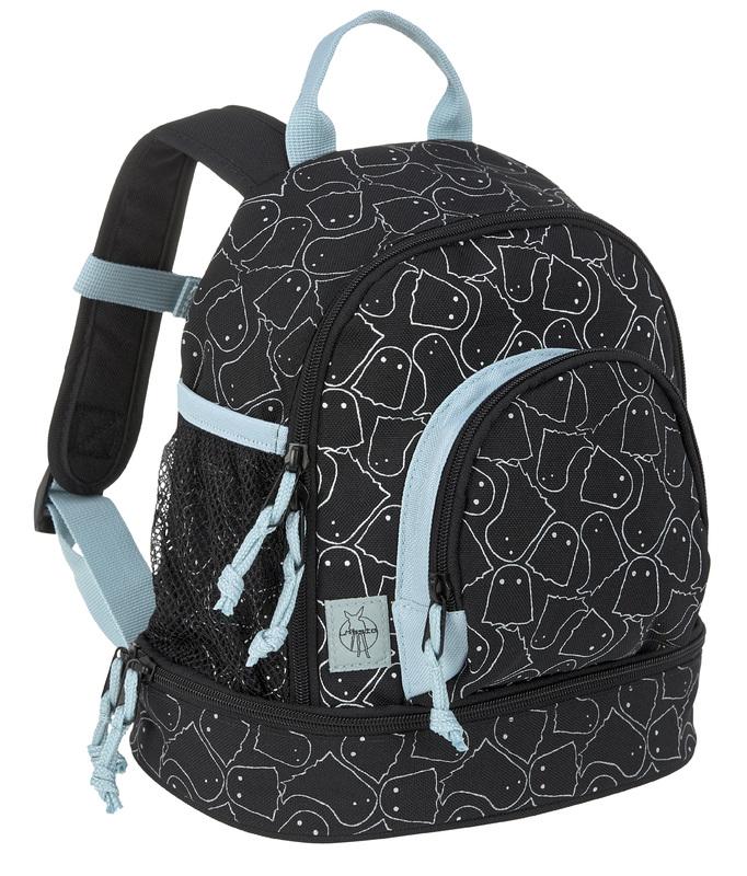 LÄSSIG - detský batoh, Mini Backpack Spooky black