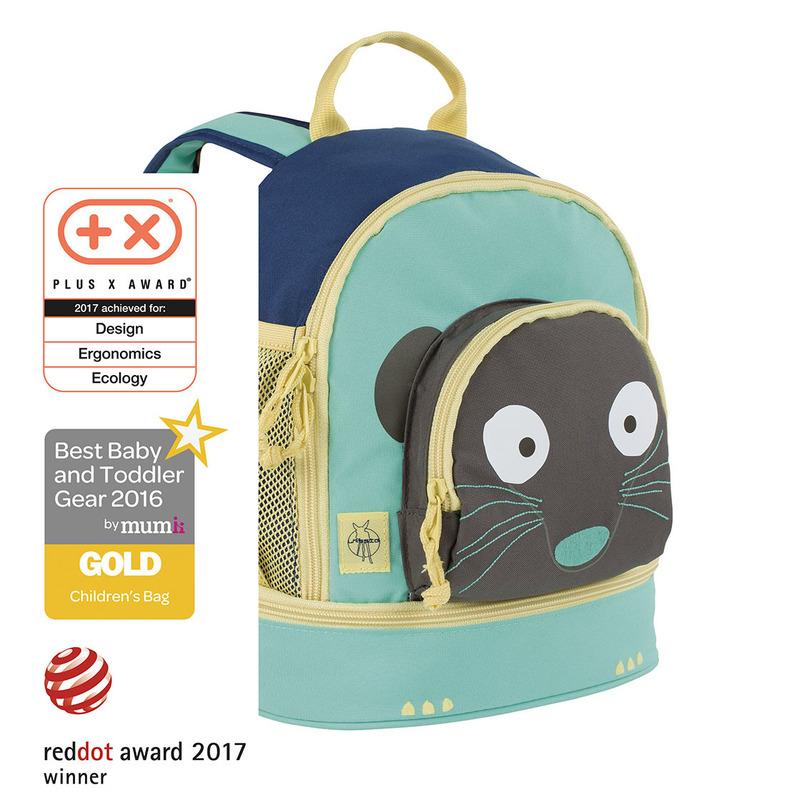 LÄSSIG - detský batoh, Mini Backpack Wildlife meerkat