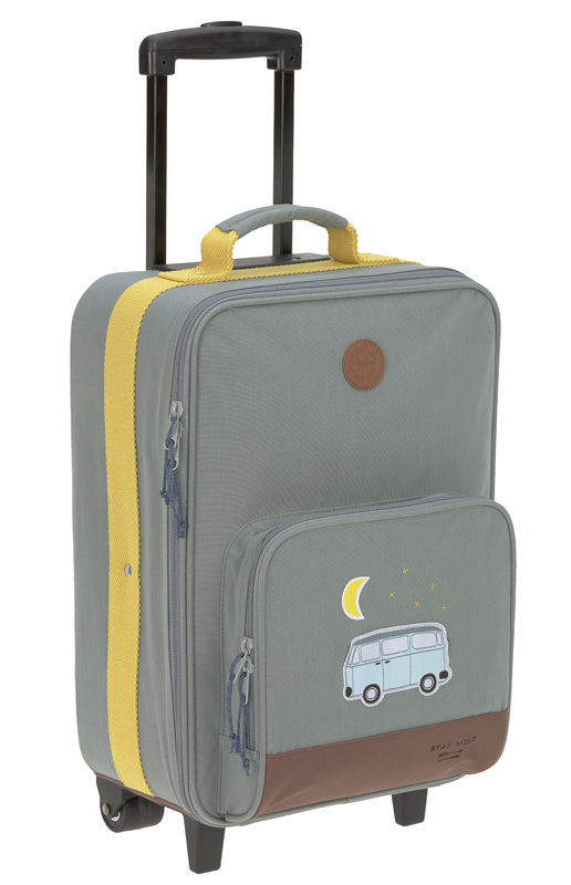 LÄSSIG - detský kufor Trolley Adventure Bus