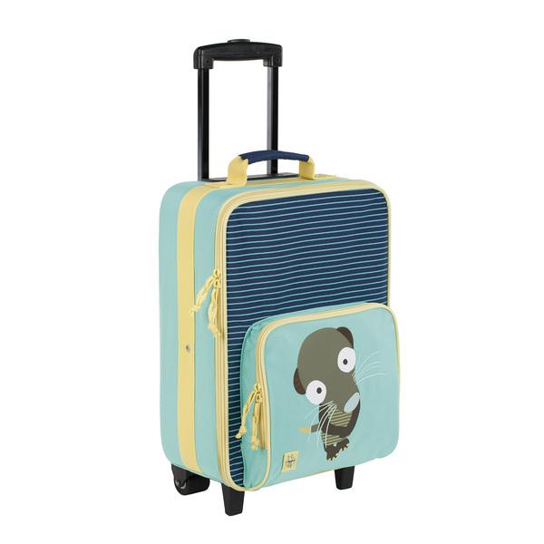 LÄSSIG - Detský kufor Trolley Wildlife meerkat
