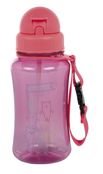 LÄSSIG - Fľaša Drinking Bottle About Friends pink