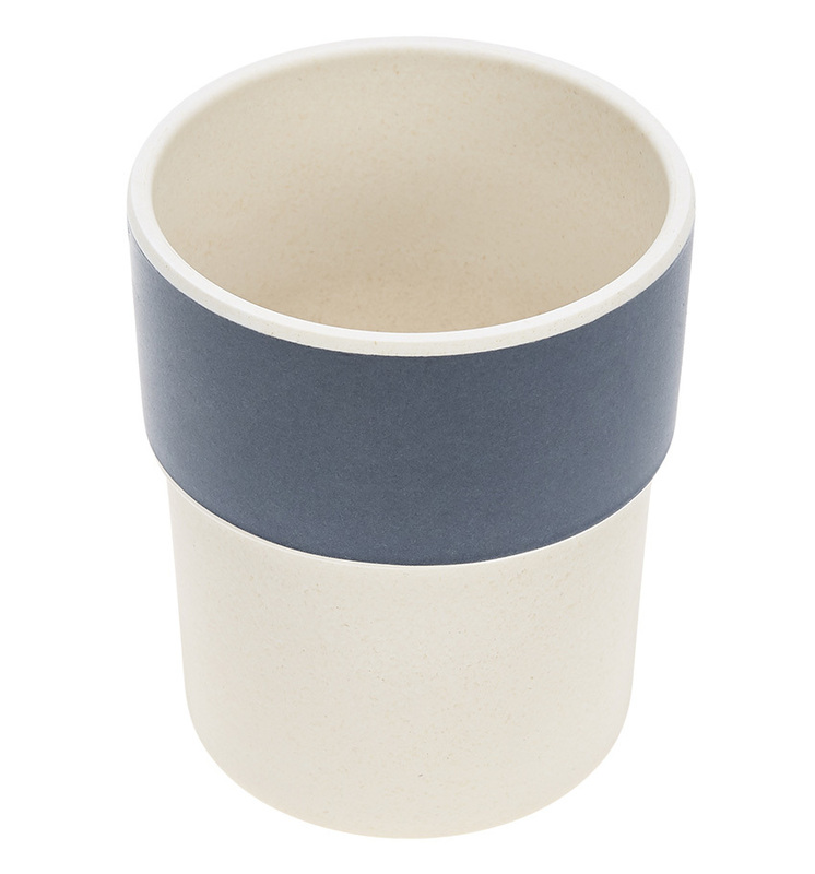 LÄSSIG - hrnček, Mug Bamboo Glama Lama blue