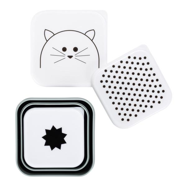 LÄSSIG - Krabičky na jedlo SnackBox Little Chums cat