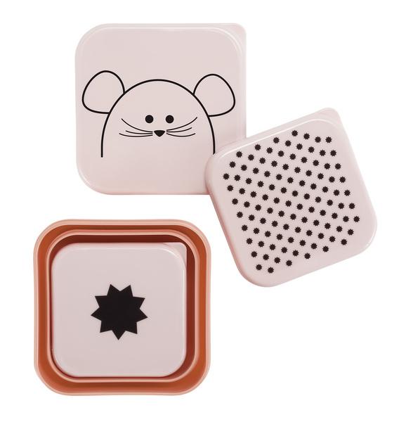 LÄSSIG - Krabičky na jedlo SnackBox Little Chums mouse