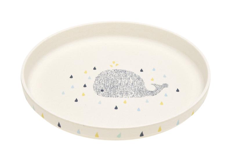 LÄSSIG - tanierik, Plate Bamboo Little Water Whale