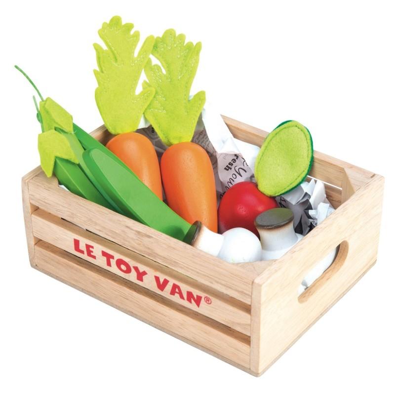 LE TOY VAN - Drevená debnička Zelenina
