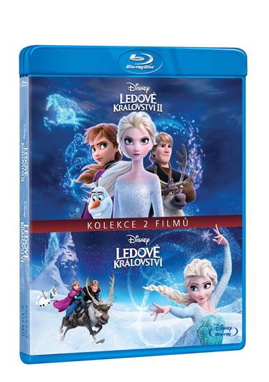 Ledové království kolekce 1.+2. 2 Blu-ra