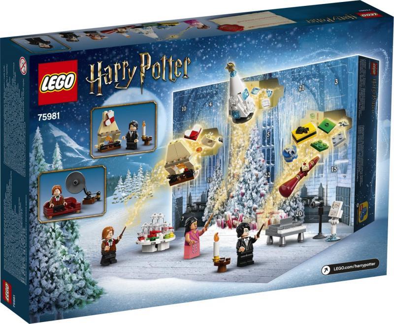 LEGO - Adventný kalendár LEGO® Harry Potter™ 2020 (75981)