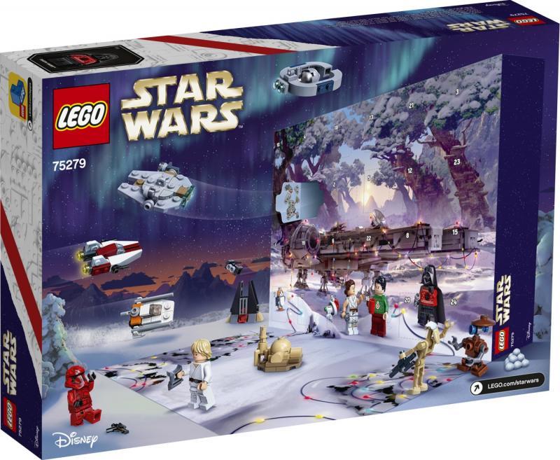 LEGO - Adventný kalendár Star Wars™ 75279 (2020)