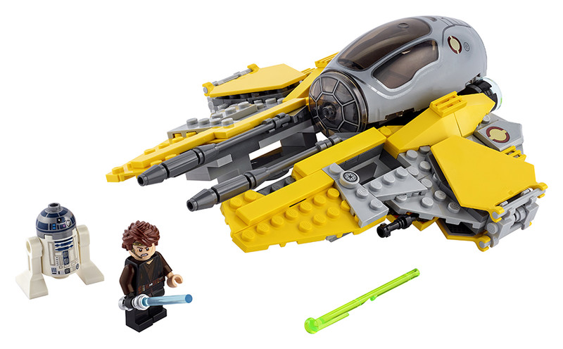 LEGO - Anakinova jediská stíhačka