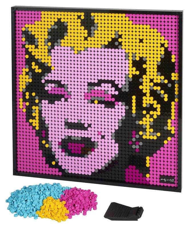 LEGO - Andy Warhol's Marilyn Monroe
