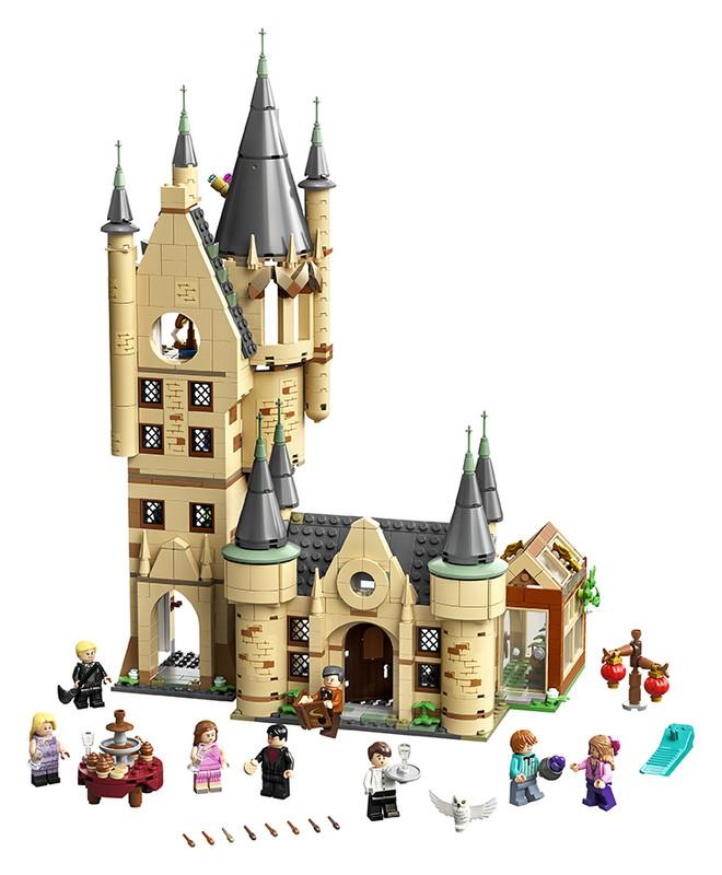 LEGO - Astronomická veža na Rokforte