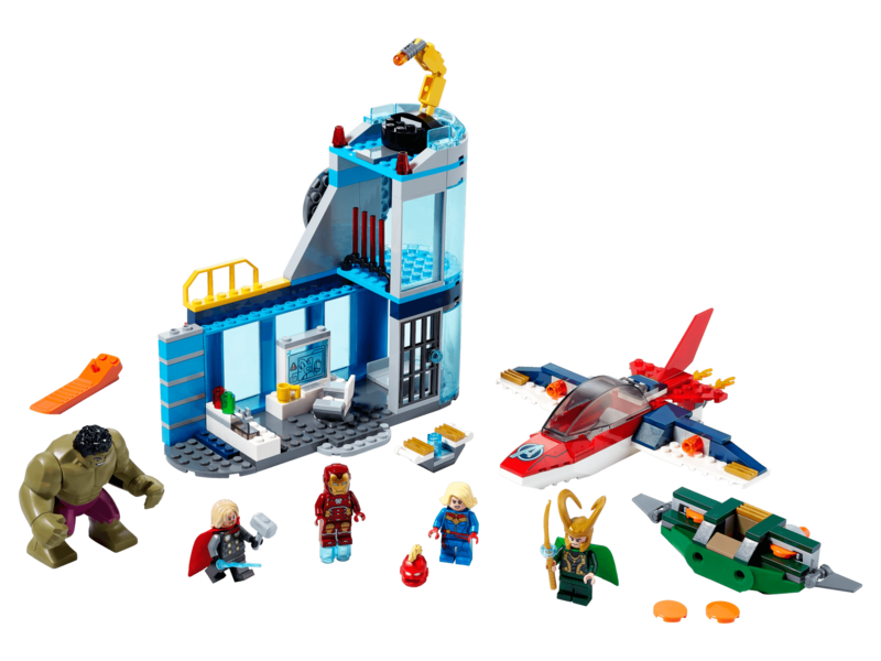 LEGO - Avangers 76152 Lokiho hnev