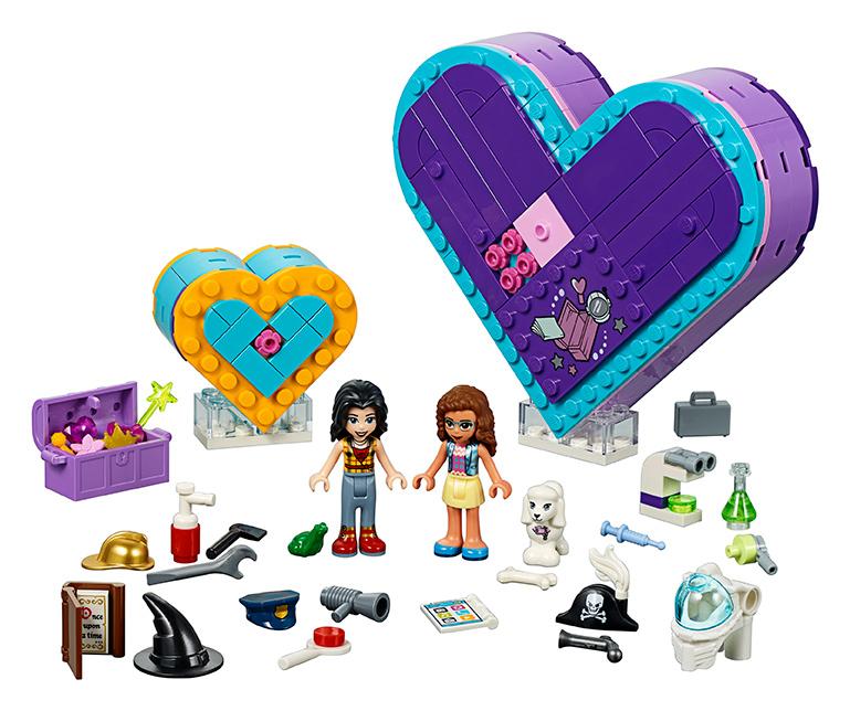 LEGO - Balenie Srdiečkových Boxov Priateľstva