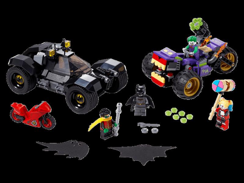 LEGO - Batman 76159 Mobilná základňa Batmana