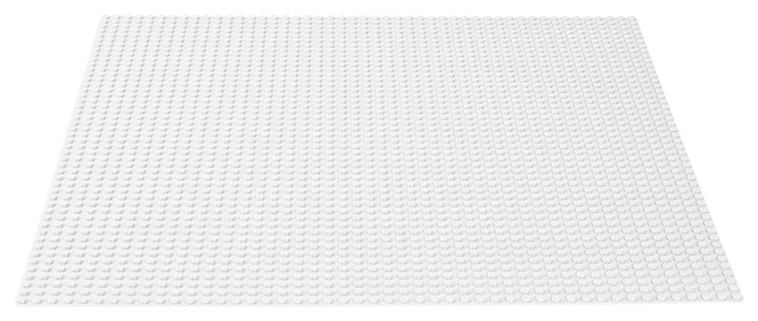 LEGO - Biela Podložka Na Stavanie