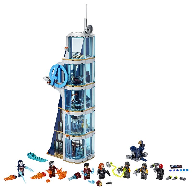 LEGO - Boj vo veži Avengerov