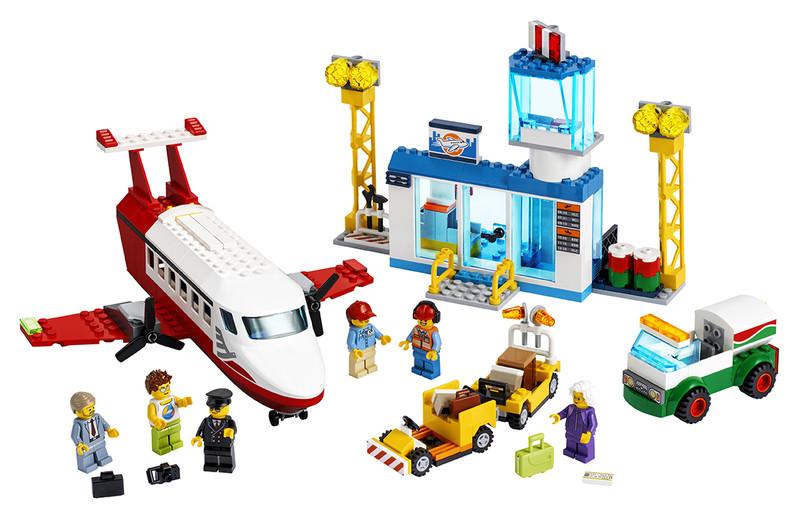 LEGO - Centrálne letisko