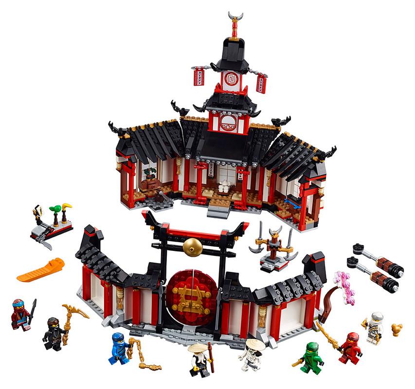 LEGO - Chrám Spinjitzu