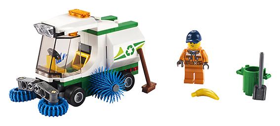 LEGO - Čistiace Vozidlo