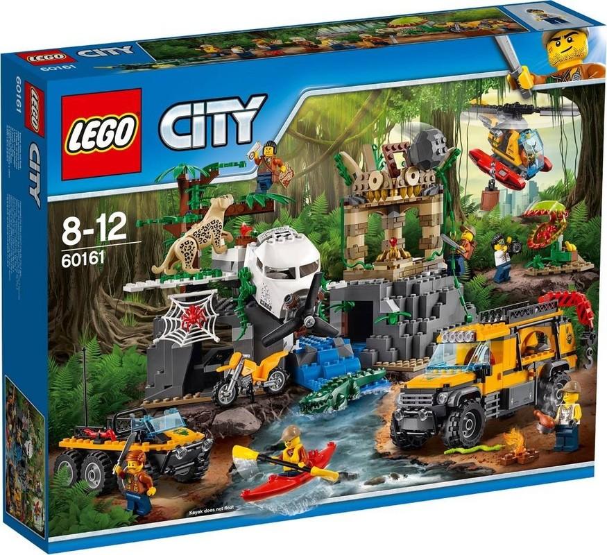 LEGO - City 60161 Prieskum oblasti v džungli