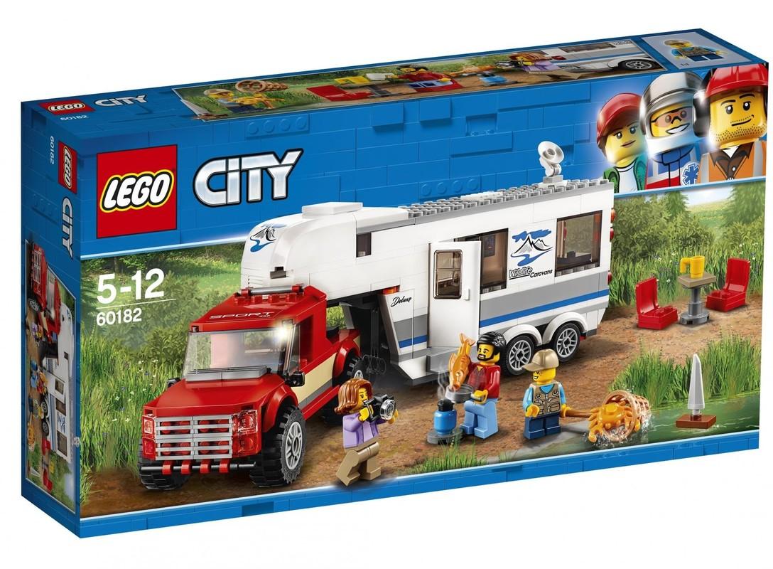 LEGO - City 60182 Pick-up a karavan