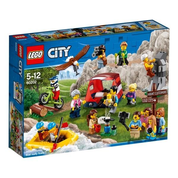 LEGO - City 60202 Balíček postavičiek – dobrodružstvá v prírode