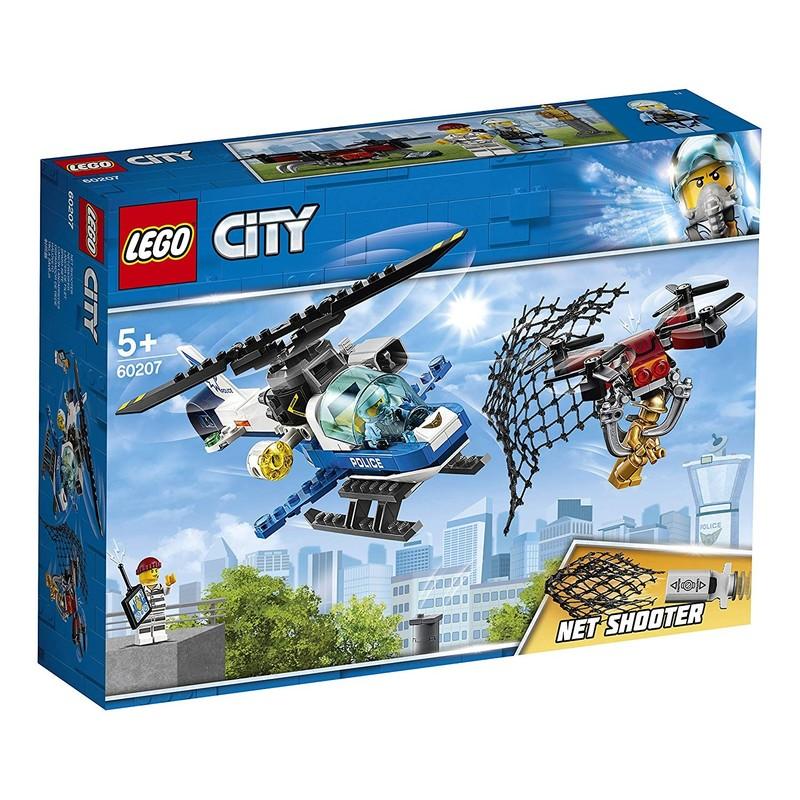 LEGO - City 60207 Naháňačka leteckej polície s dronom