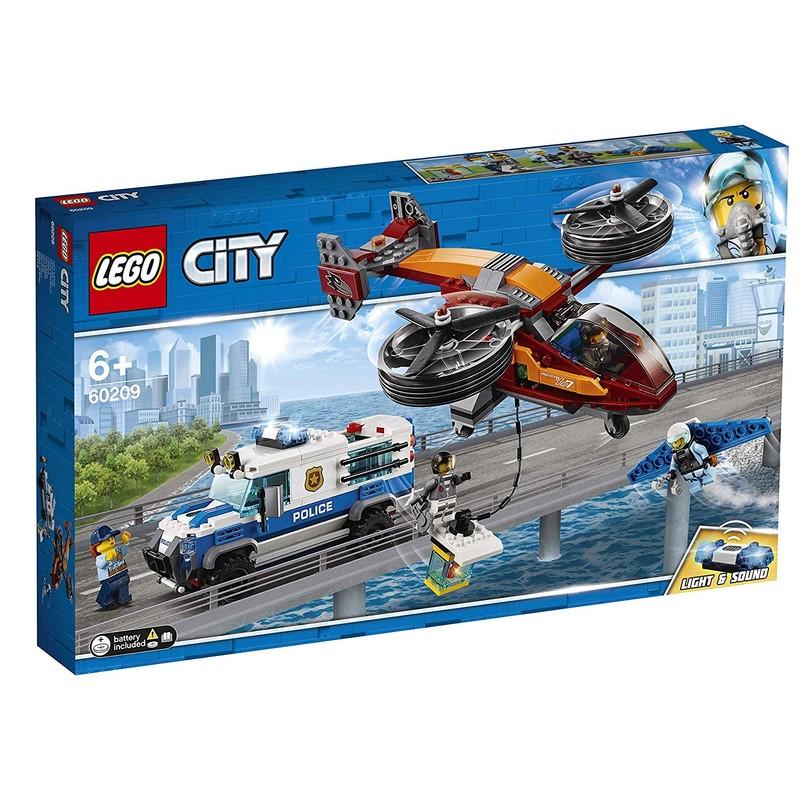 LEGO - City 60209 Letecká polícia a krádež diamantu