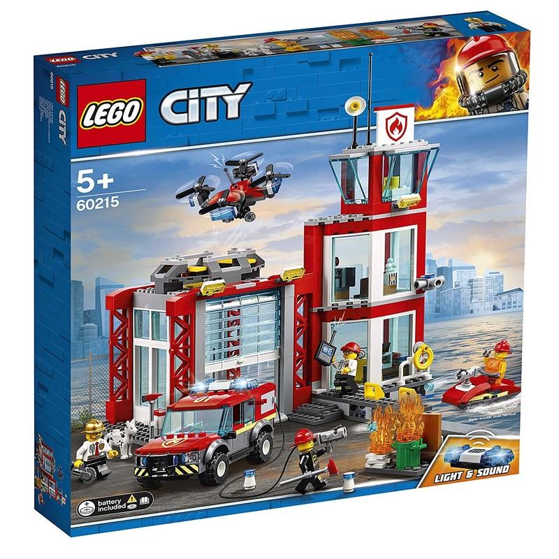 LEGO - City 60215 Hasičská stanica