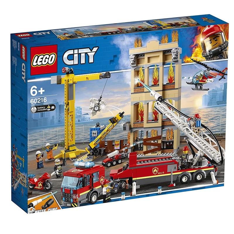 LEGO - City 60216 Zásah hasičov v centre