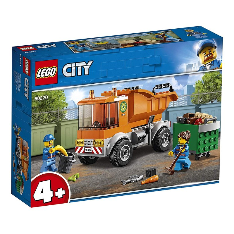 LEGO - City 60220 Smetiarske auto
