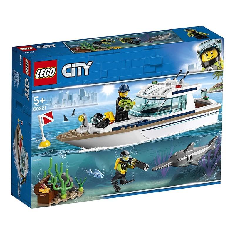 LEGO - City 60221 Potápačská jachta