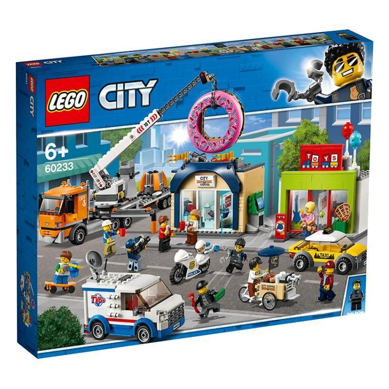 LEGO - City 60233 Otvorenie predajne donutov