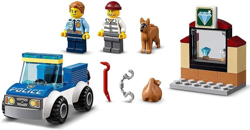 LEGO - City 60241 Jednotka s policajným psom