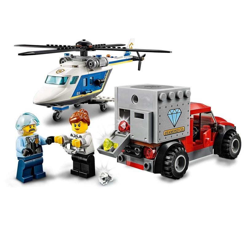 LEGO - City 60243 Prenasledovanie policajnou helikoptérou