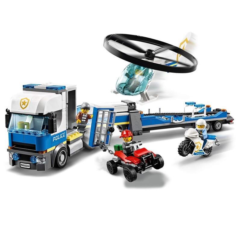 LEGO - City 60244 Preprava policajnej helikoptéry