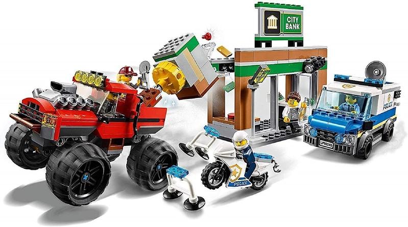 LEGO - City 60245 Lúpež s monster truckom